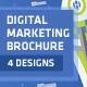 Digital Marketing & Advertising Agency Brochure - GraphicRiver Item for Sale