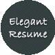 Elegant CV/Resume Premium Template - ThemeForest Item for Sale