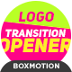 Transition Logo Opener - VideoHive Item for Sale