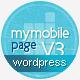 My Mobile Page V3 Wordpress Theme