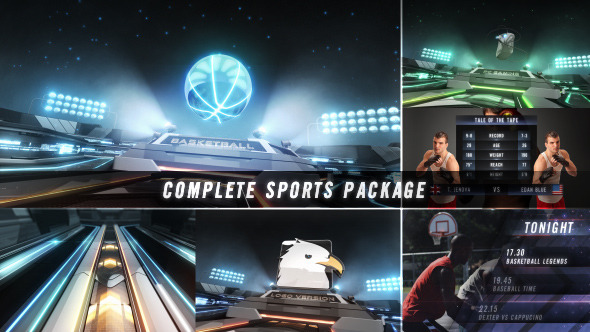 Action Zone - Complete Sports Broadcast Package
