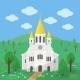 Catholic Church - GraphicRiver Item for Sale