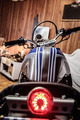 Rear View Of Motorcycle - PhotoDune Item for Sale