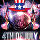 4th July Weekend Flyer Template - GraphicRiver Item for Sale