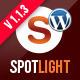 Spotlight - Clean & Minimal Wordpress Template - ThemeForest Item for Sale
