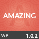 Amazing  Multi-Purpose WordPress Theme - ThemeForest Item for Sale