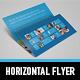 Metro Horizontal Tri-fold Flyer - GraphicRiver Item for Sale