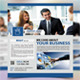 Corporate Flyer (Facebook Style) - GraphicRiver Item for Sale