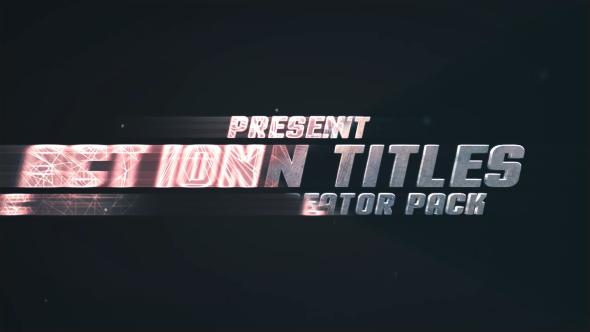 Action Titles Trailer Creator