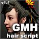 Maya GMH Hair script - 3DOcean Item for Sale