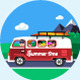 Summer Landscapes - GraphicRiver Item for Sale