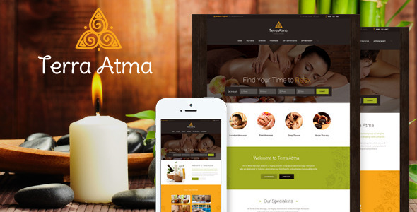 Terra Atma | Spa & Massage Salon Wellness WordPress Theme