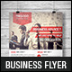 Corporate Business Flyer Template V13 - GraphicRiver Item for Sale