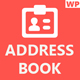 WP Address Book: Contacts Management Plugin - CodeCanyon Item for Sale
