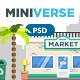 Miniverse - Hero Image Composer - GraphicRiver Item for Sale