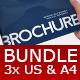 Bundle 3x Business Brochures - GraphicRiver Item for Sale