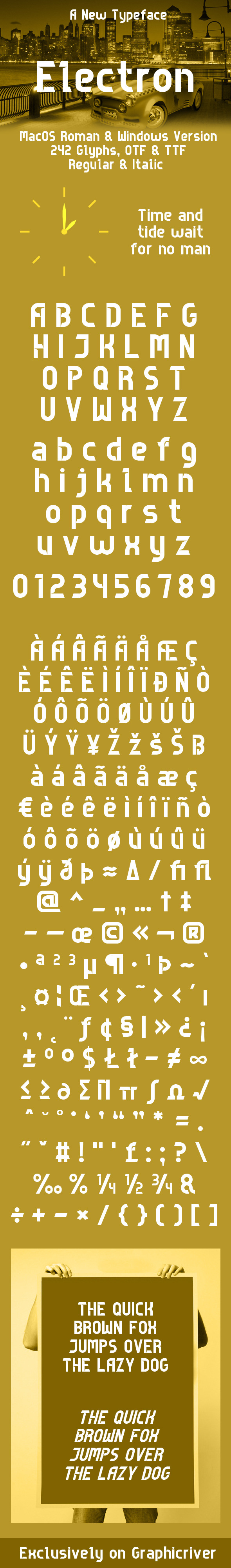 Authentic Fonts from GraphicRiver