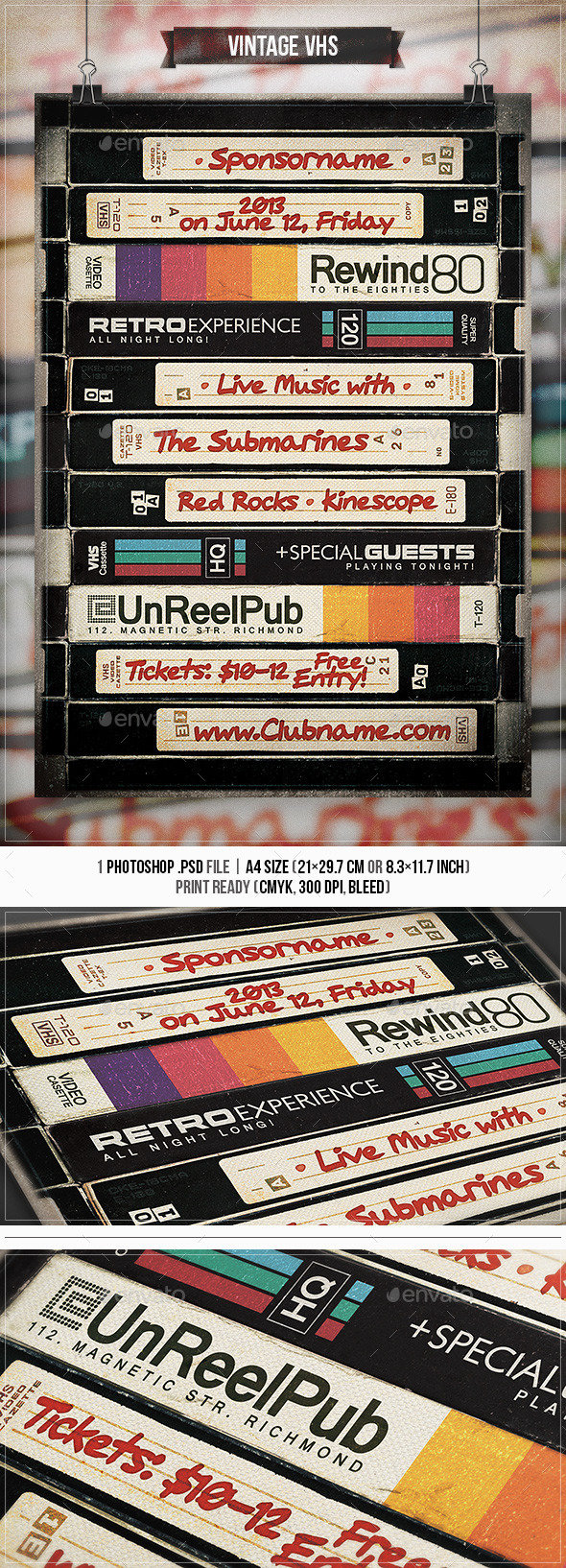 Vhs Graphics, Designs & Templates from GraphicRiver