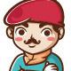 Artist Director Mascot - GraphicRiver Item for Sale
