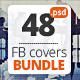 Multipurpose Facebook Covers Bundle 48 PSD - GraphicRiver Item for Sale