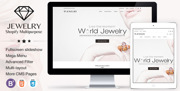 Fashion Shopify Themes from ThemeForest