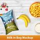 Milk in Bag Mockup - GraphicRiver Item for Sale