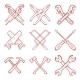 Crossed Work Tools - GraphicRiver Item for Sale