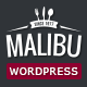 Malibu - One Page Lounge Bar & Cafe Resto WP Theme - ThemeForest Item for Sale