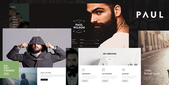 Paul - Creative Multi-Purpose WordPress Theme