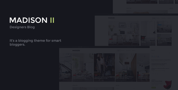 Interior Design WordPress Theme - MADISON II