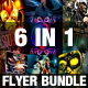 6in1 Flyer Bundle