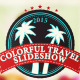 Colorful Travel Slideshow - VideoHive Item for Sale