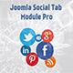 Joomla Social Tabs Module Pro - CodeCanyon Item for Sale