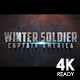 Winter Soldier Cinematic Trailer - VideoHive Item for Sale