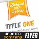 Company Info Flyer Template - GraphicRiver Item for Sale