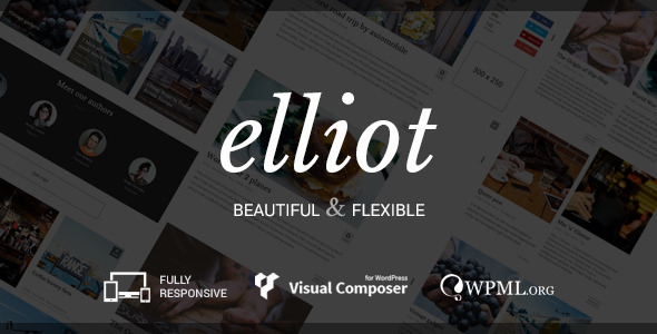 Elliot - Clean Blog-Magazine WordPress Theme