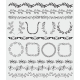 Black Hand Sketched Seamless Borders - GraphicRiver Item for Sale