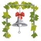 Bell With Bow Hungs On Chain - GraphicRiver Item for Sale