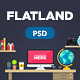 Flatland - Hero Image Composer - GraphicRiver Item for Sale