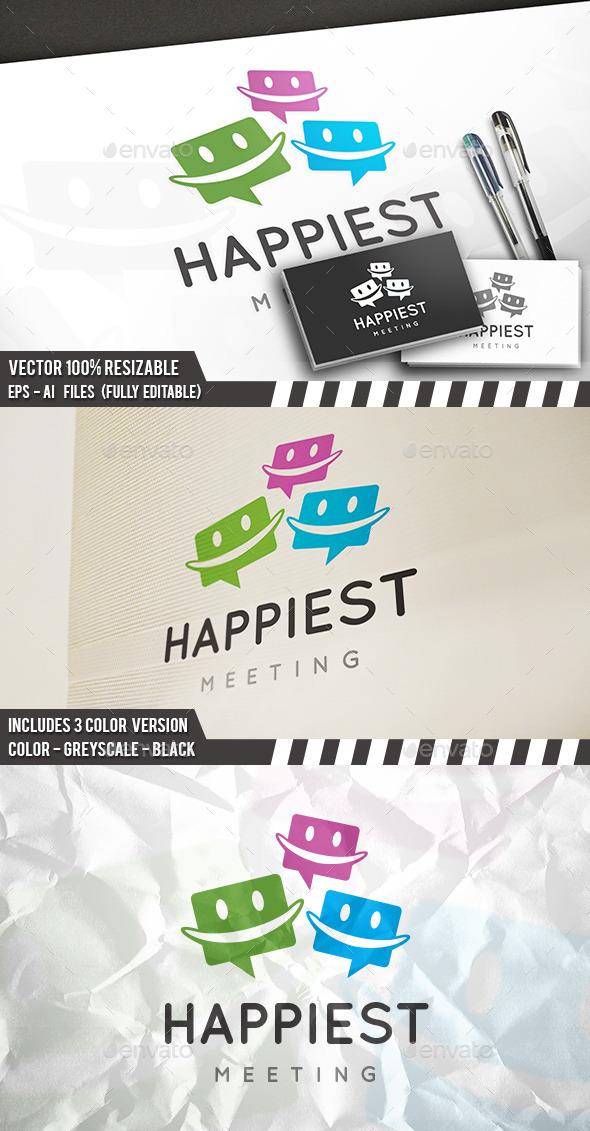 Happy Chat Logo