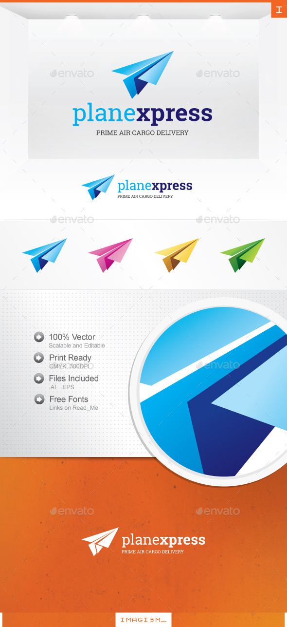 Plane Express Logo