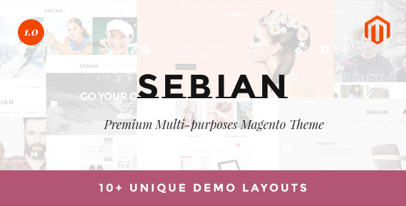 Sebian - Multipurpose Responsive Magento Theme