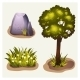 Set Of Game Environment Elements - GraphicRiver Item for Sale