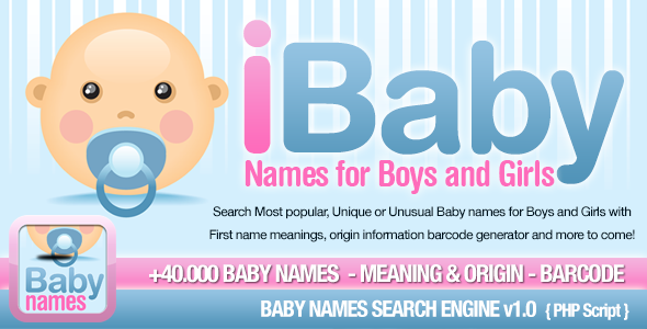 Baby Names Search Engine Download