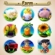 Cartoon Set Of Animals Vegetables And Men - GraphicRiver Item for Sale