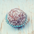 Arabian delicacy coconut snow ball made from moroccan dates, alm - PhotoDune Item for Sale