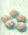 Handmade energy balls made from moroccan dates, almond and cocon - PhotoDune Item for Sale