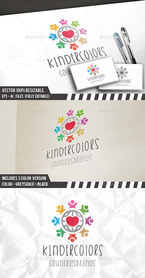 Kids World Brand Logo