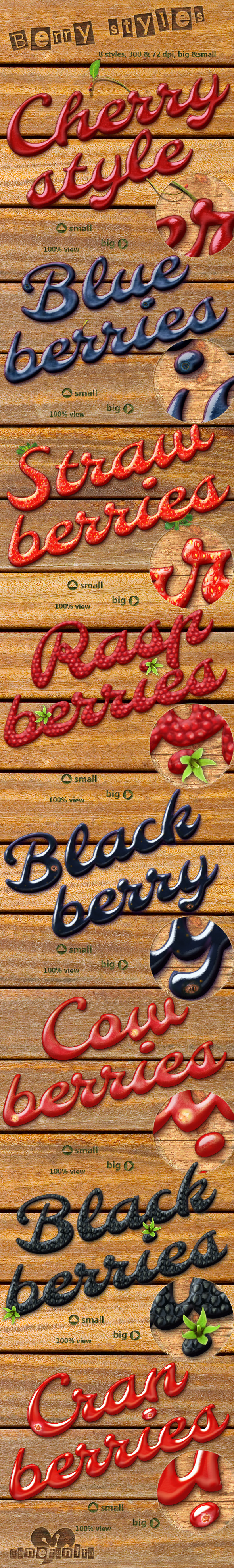 Berry Styles