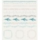 Colorful Hand Sketched Seamless Borders - GraphicRiver Item for Sale